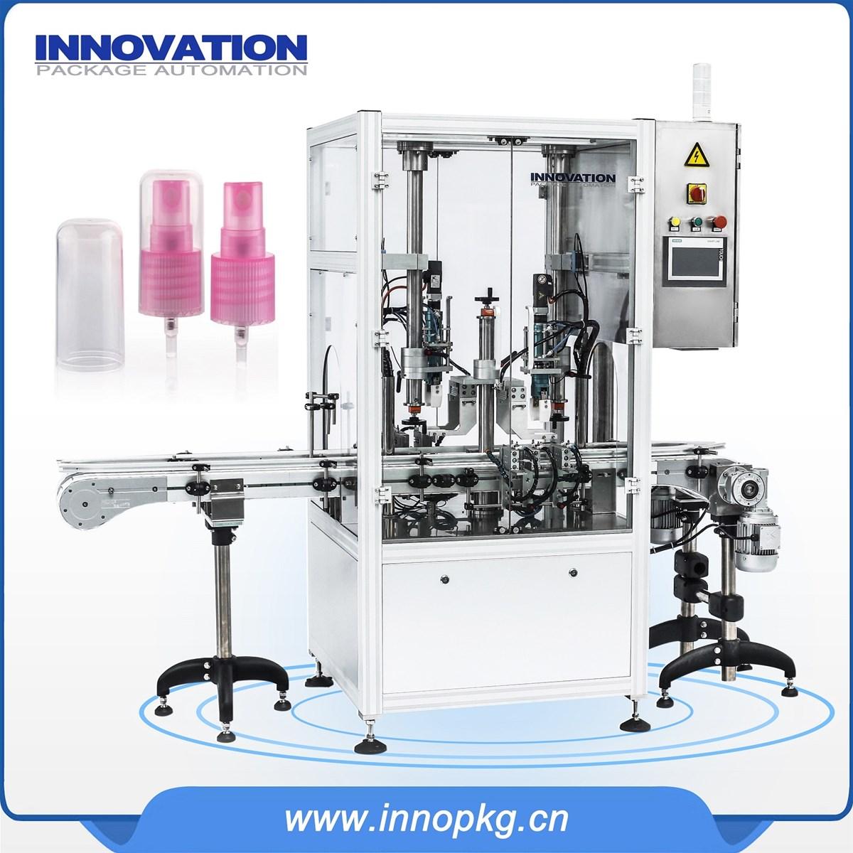 Automatic Shampoo liquid body wash cream filling capping machine