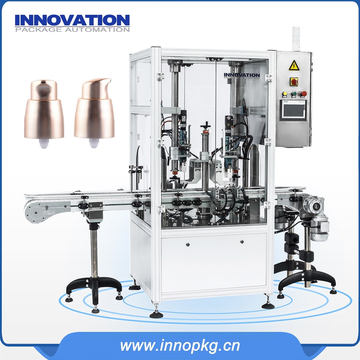 Automatic cream filling capping machine with directly sale