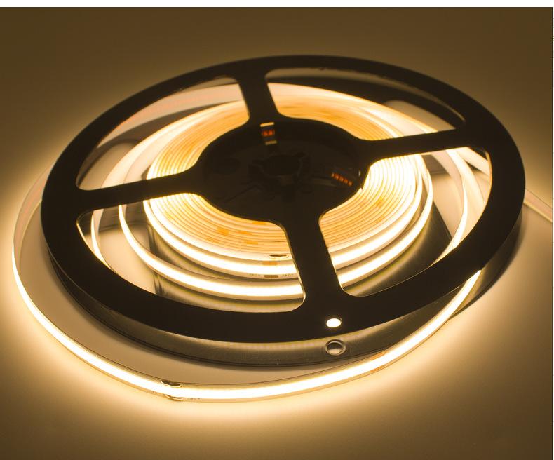 DC24V Super Bright Flexible COB LED Strip Light