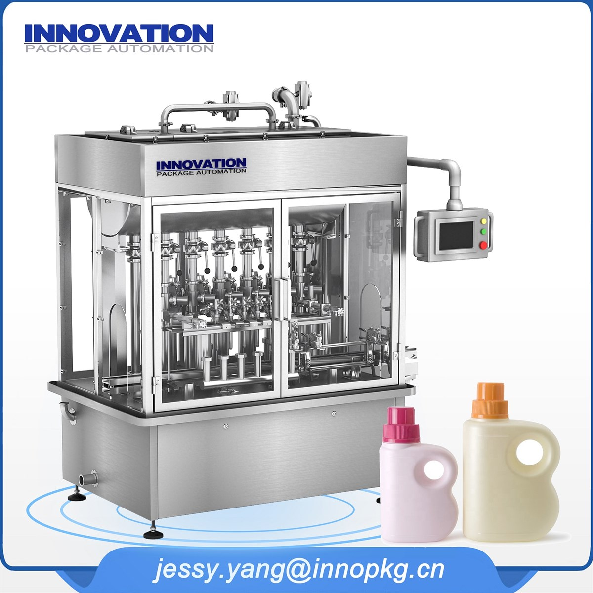 hospital laundry detergen sport cleaner filling machine