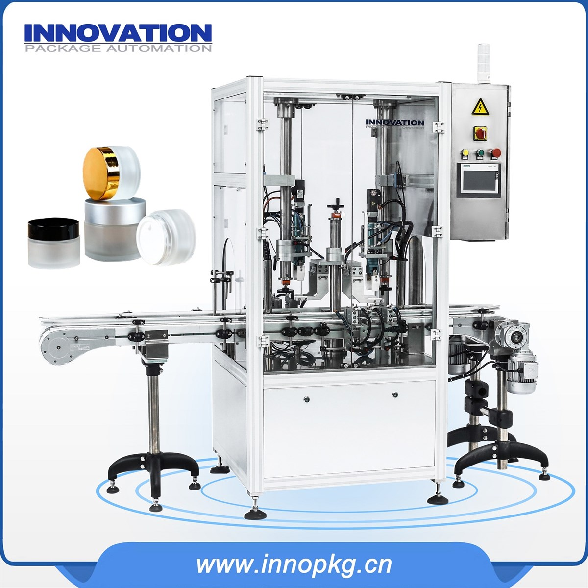 Full automatic liquid and cream filling production line