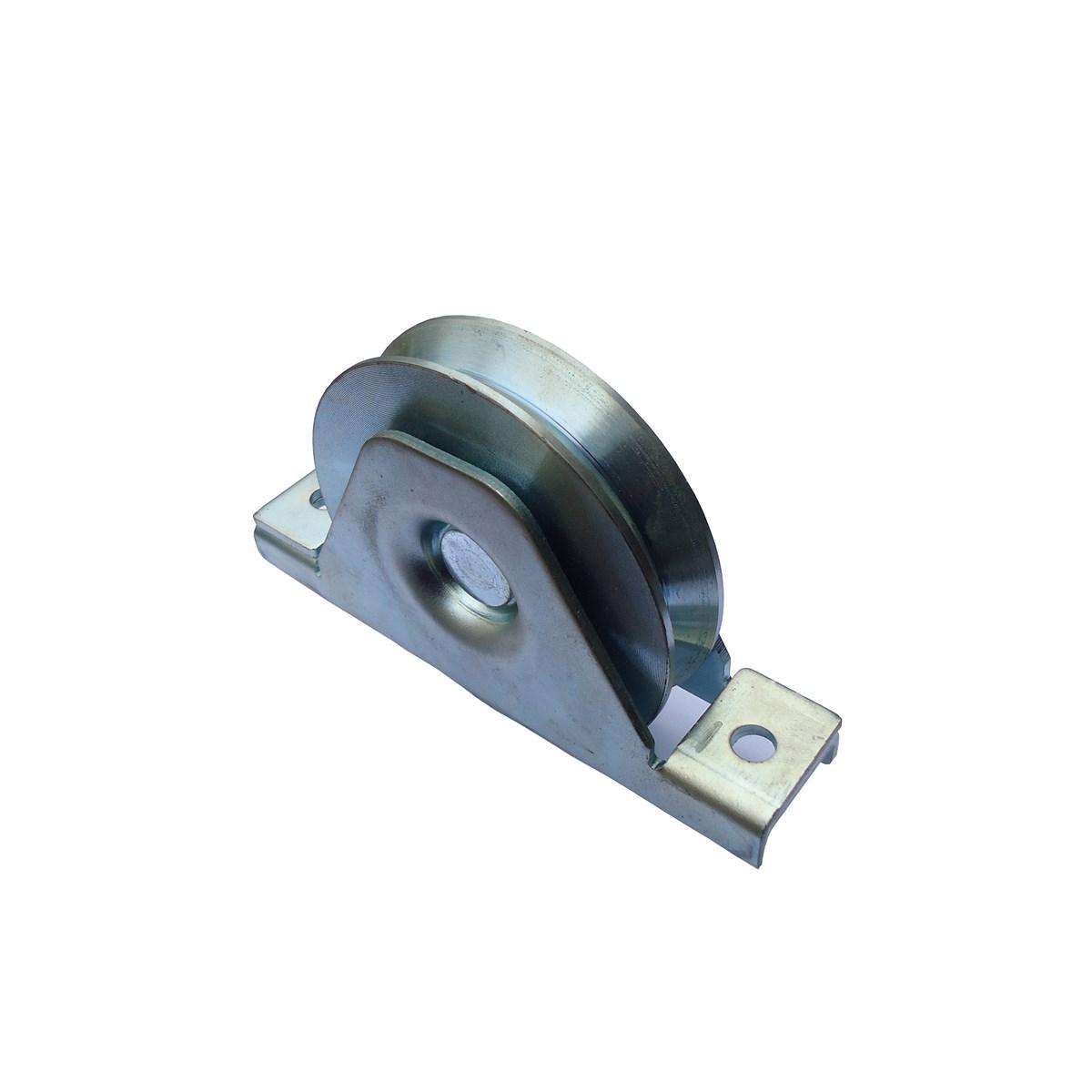 Heavyduty steel sliding door galvanized gate wheel