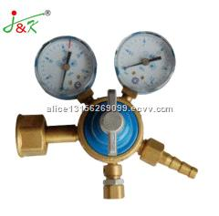 Russia Pressure Gauge with Blue