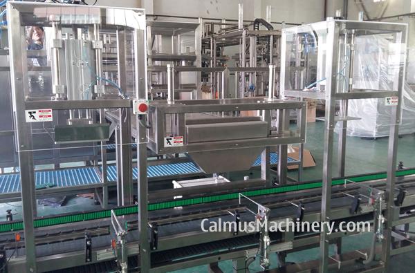 FillandPack Complete BaginBox Line for 351020 Litre BiB Filling and Packaging