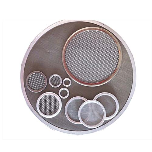 SS 304 316 Stainless Steel Wedge Wire Mesh Filter Leaf Disc Custom for Clear Filtering
