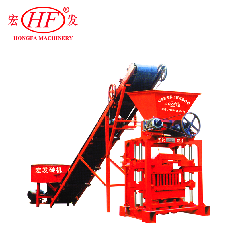 Hongfa QTJ435B2 Construction Block Making Machines For Cement Products