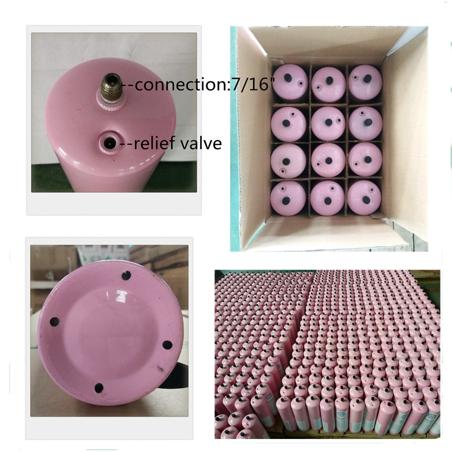 1L Small Can Refrigerant Gas R134A for European Market
