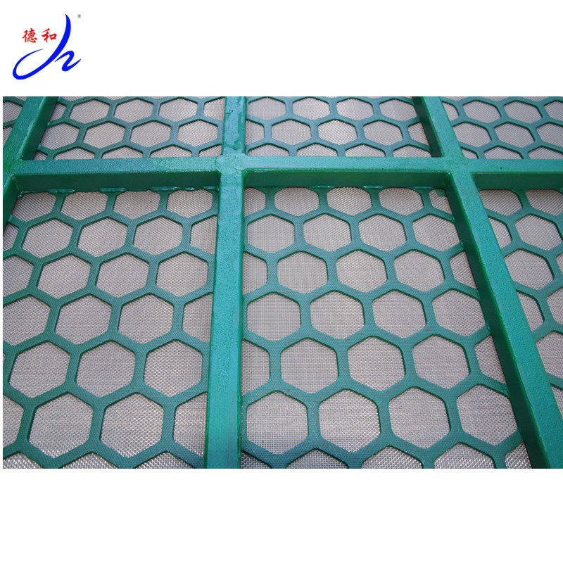 small rotary screen filter oil with high tensile mesh for fluids control system