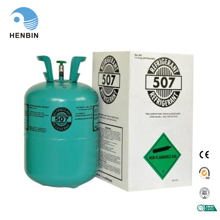 R507 Refrigerant Gas Purity 999 with Factory Price