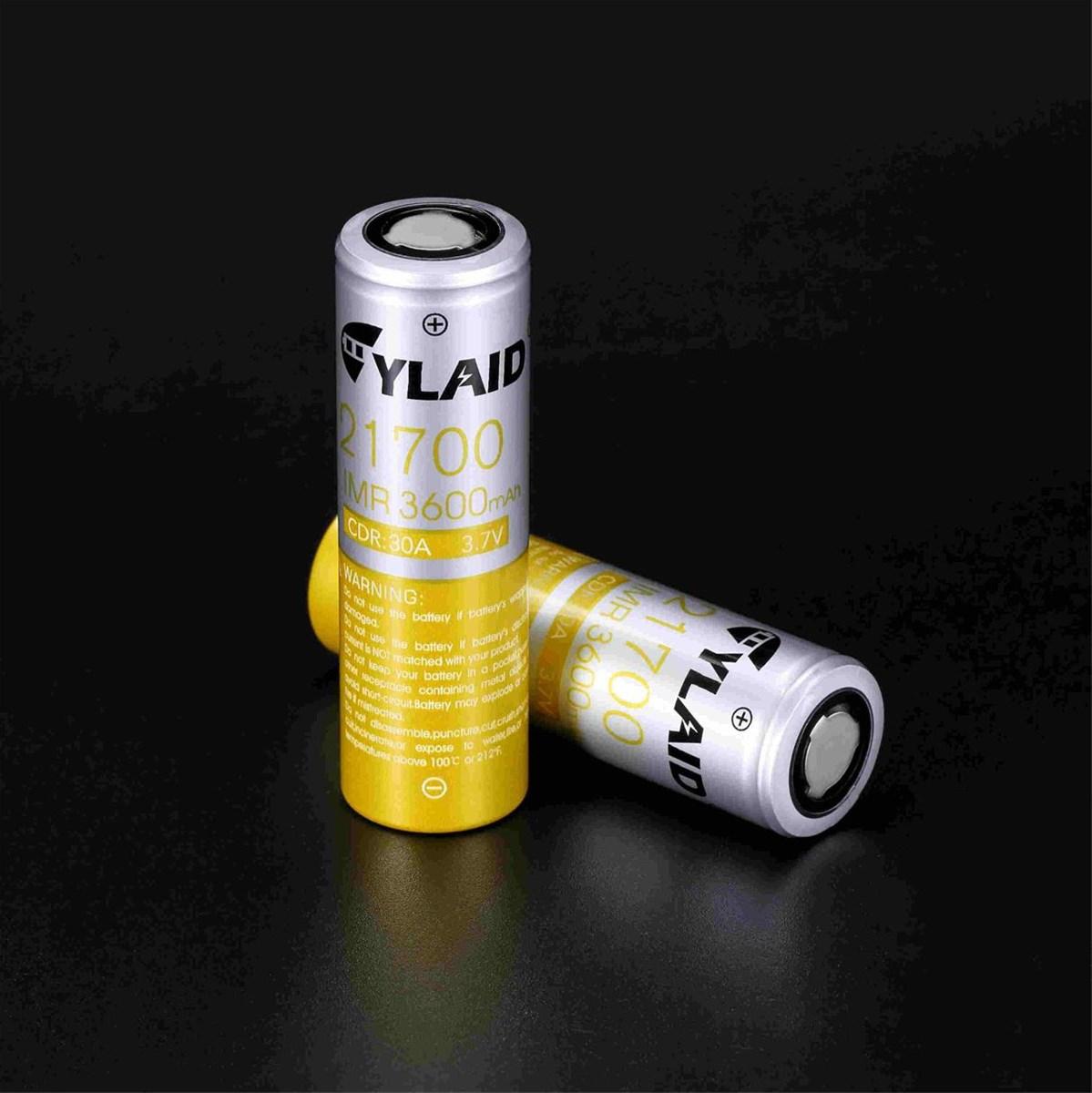 21700 3600 mAh 30A mod rechargeable batteries for vapes wholesale