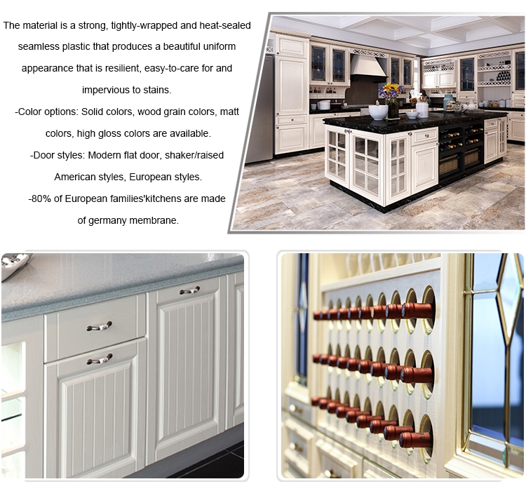 Full house furniture set poland lacquer kitchen cabinet
