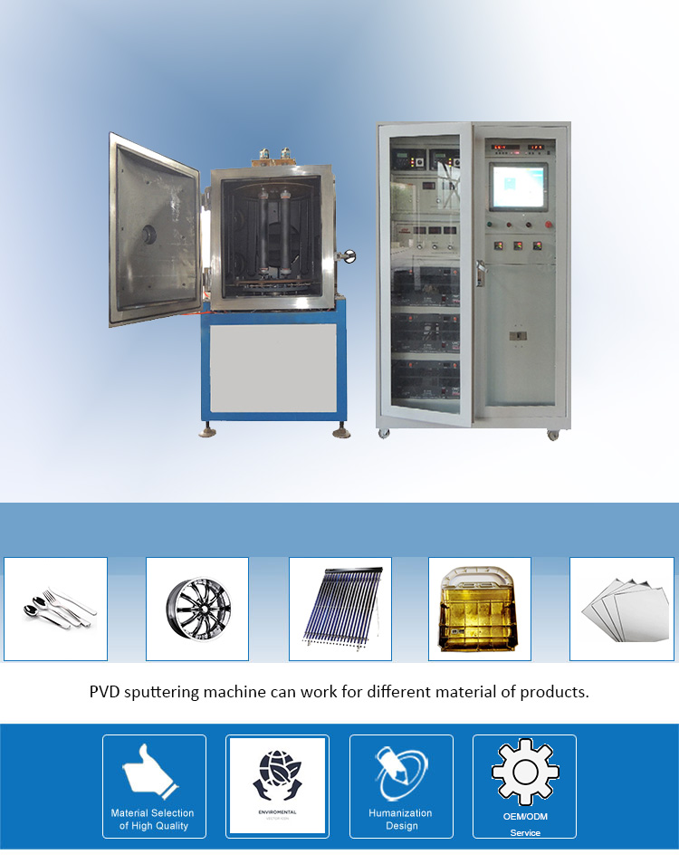Head Lamp Sputtering Coating Machine