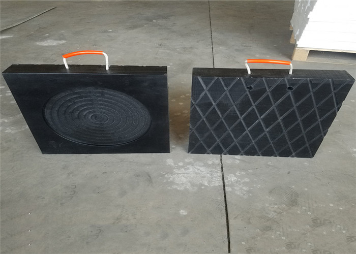 shengtong UHMW PE crane pad PE jack pad support pad with good quality cheap prices