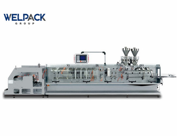 Doypack form fill seal packaging machine