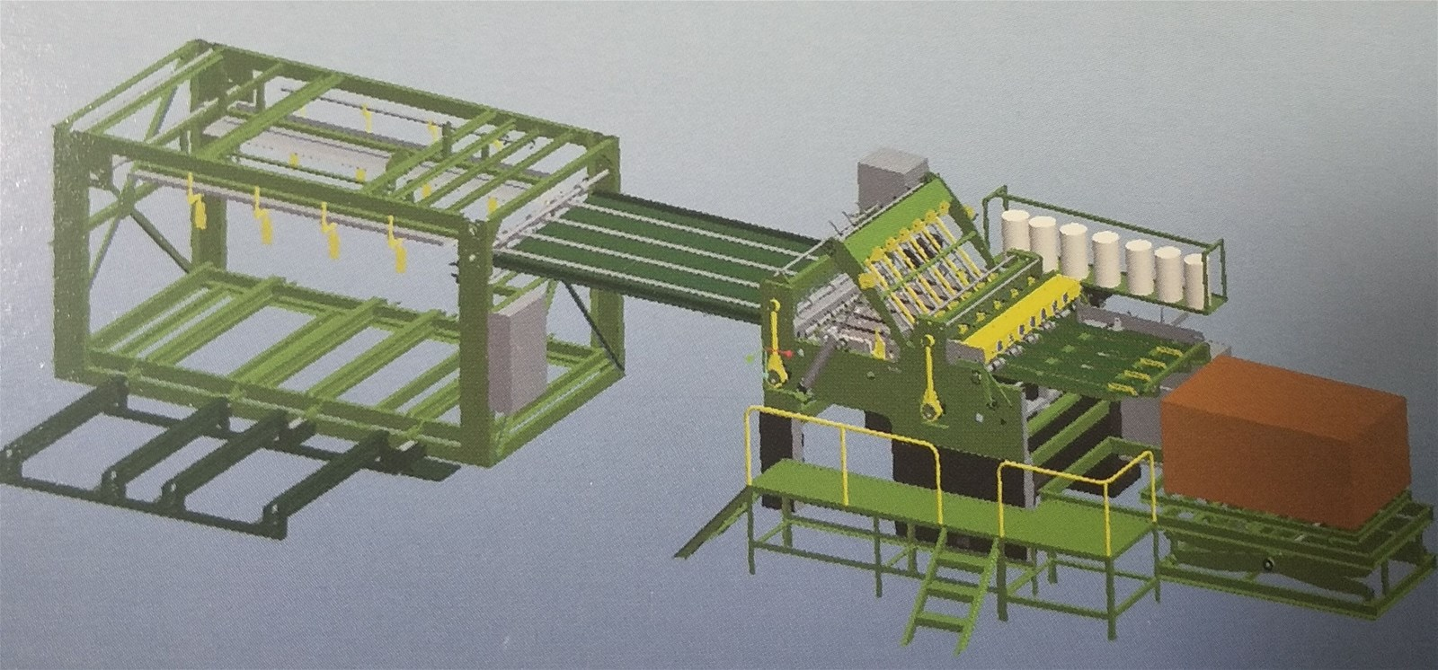 Veneer Splicing Machine for plywood production