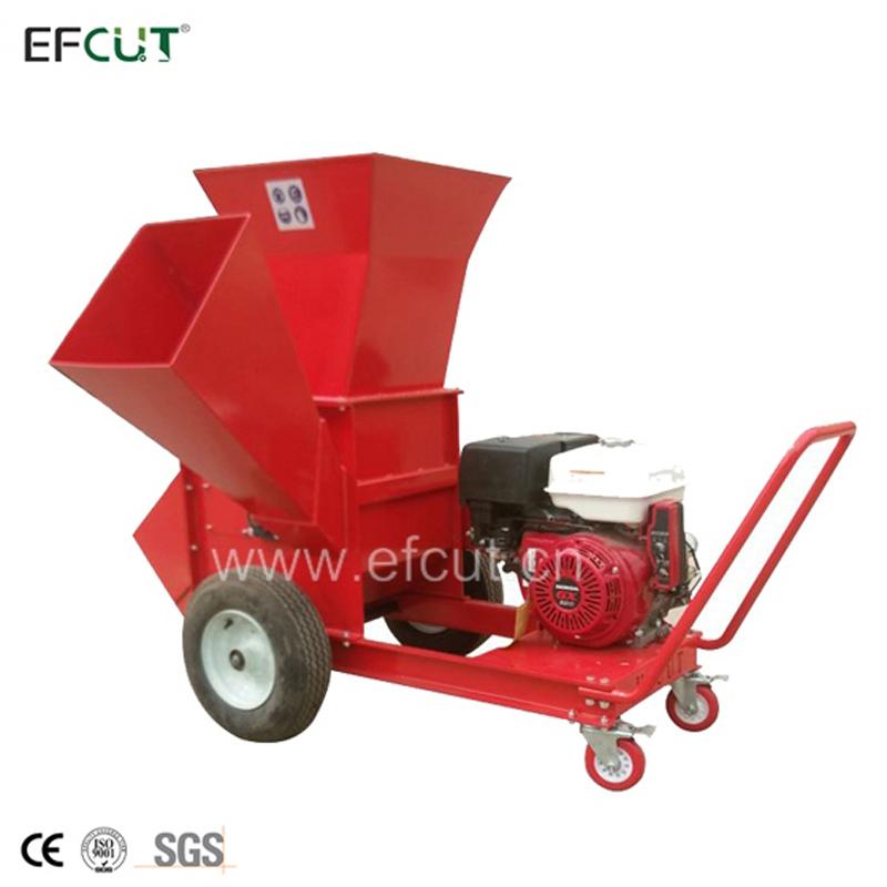 EFCUT New Fresh Coconut Husk Chips Block Cutter Shredder with 15hp Gas Engine
