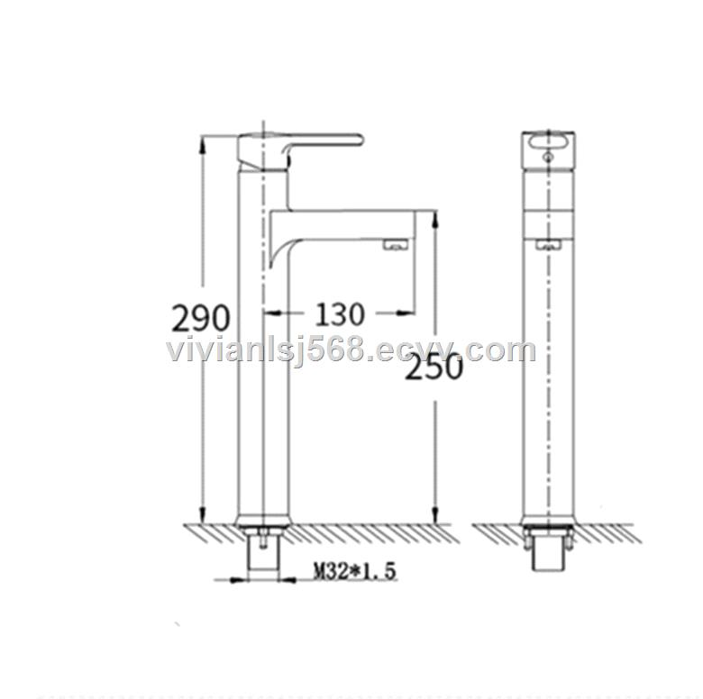 Best sell brass faucet mixer tap kicthen basin sink faucet China factory
