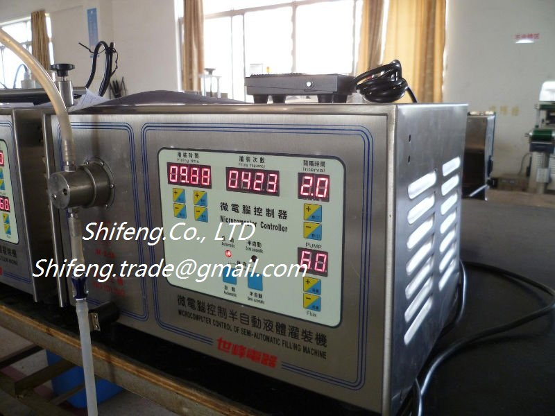 SF22 Small Commercial Semi Automatic Oil Perfume Bear Filling Machine with Double Nozzles