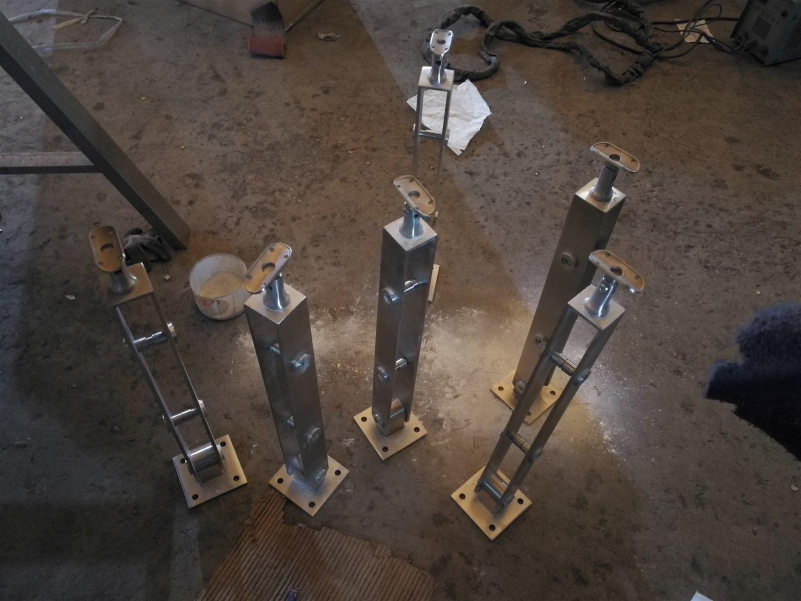 Stair Handrail ColumnsStainess Steel ProductsHardware Fitting