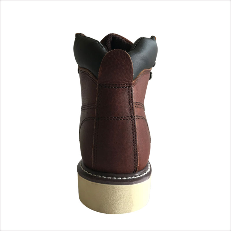 GENUINE LEATHER WORKING SAFETY BOOTS SHOES