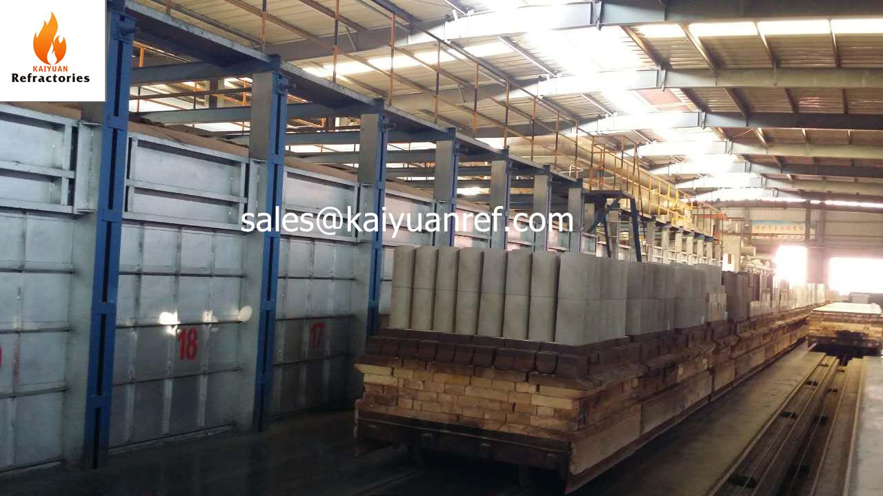 High alumina fire brick refractory material H26