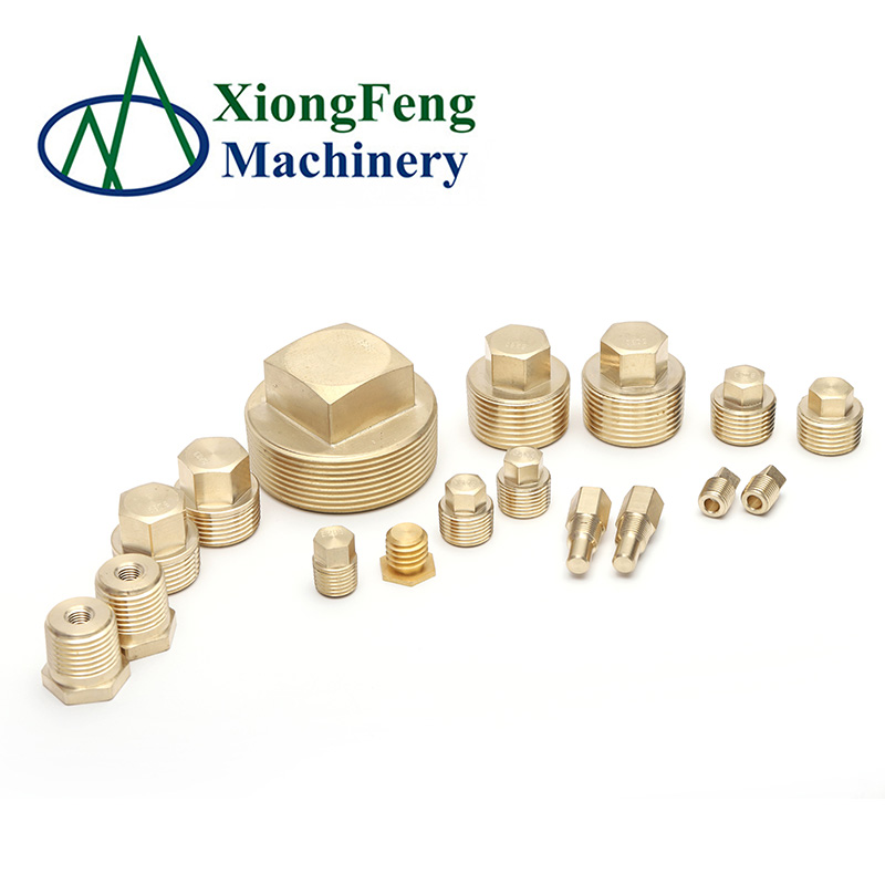 high tensile bolts Fittings brass plug screw nut with external thread Zinc YellowChromate Plated galvanized