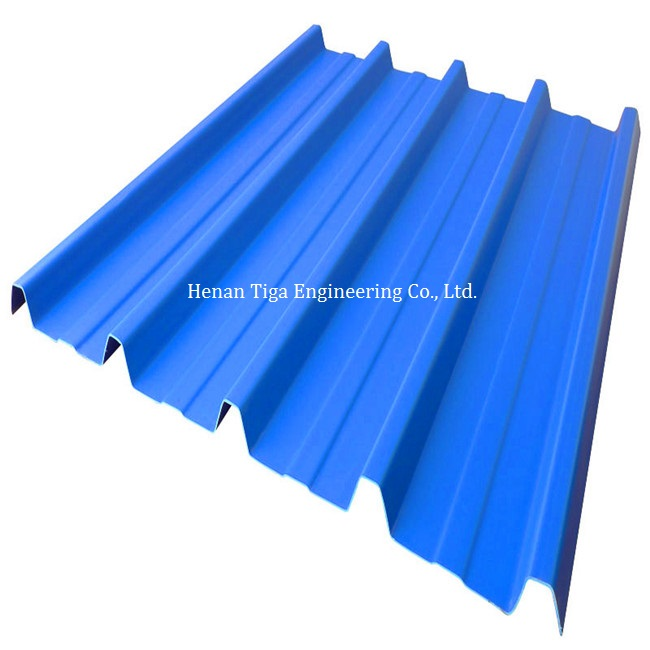 box profiled trapezoidal prepainted roofing sheet