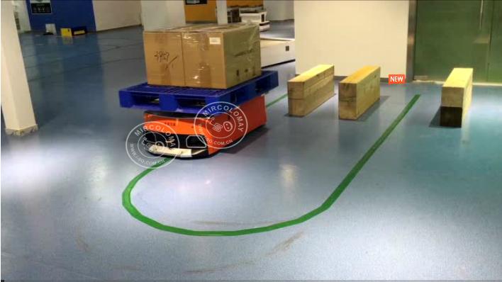 Warehouse Robot AGV DC Motor With High Safety Protection Grade AGV