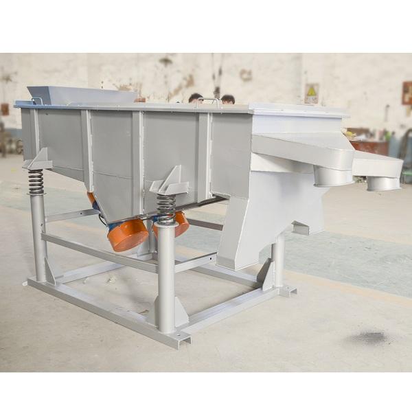 Large Capacity Suppliers Fertilizer Horizontal Linear Vibrating Screen Sieve Shaker Machine Manufacturer