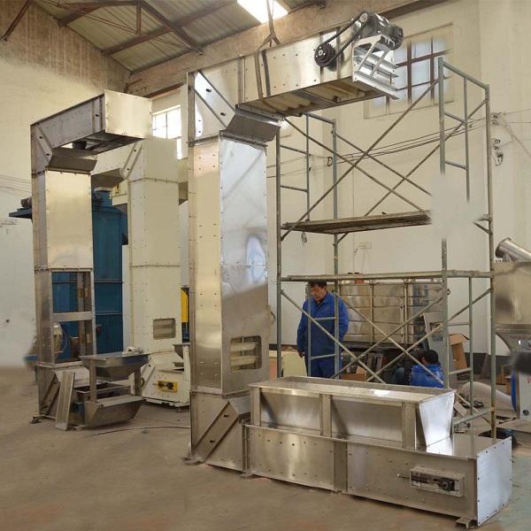 Sale Automatic Food Grade Industry Wheat Grain Transporter Chain C Series Bucket Elevator Conveyor Equipment