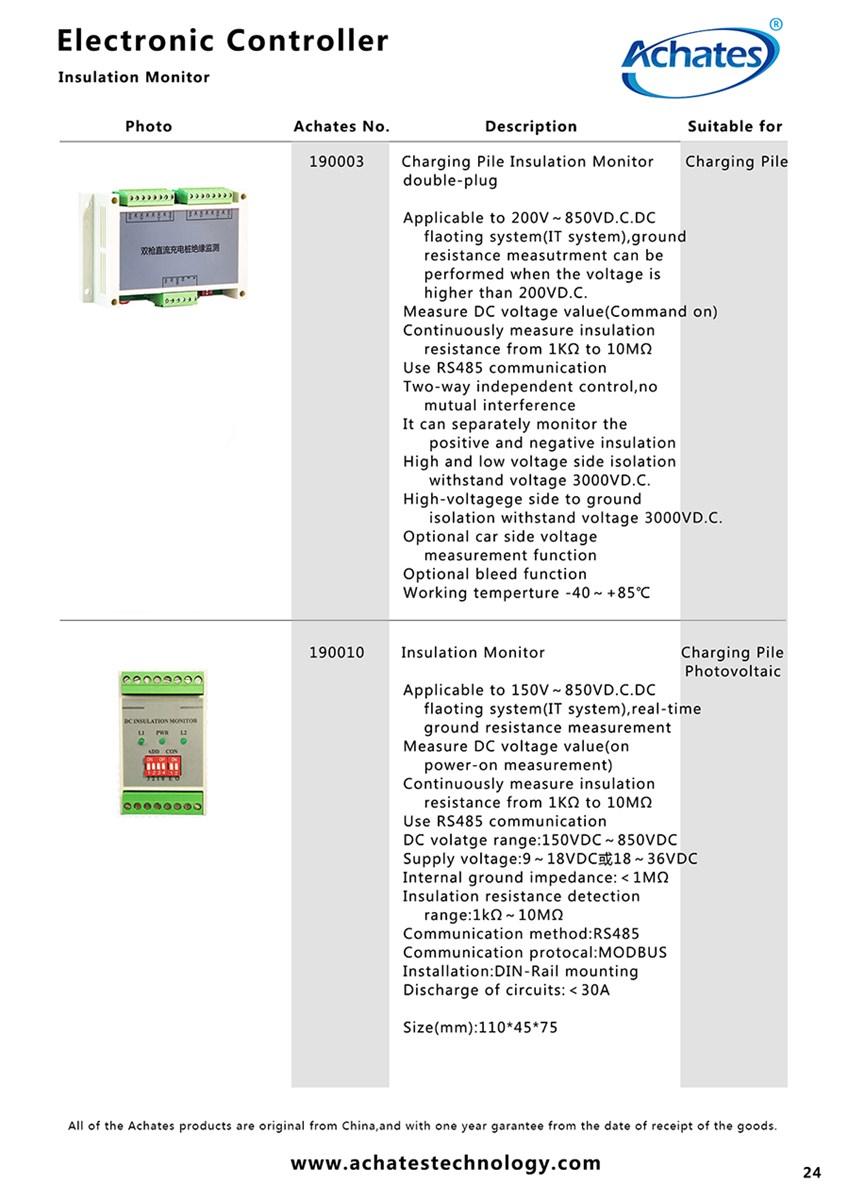 Charging Pile Insulation Monitordoubleplug