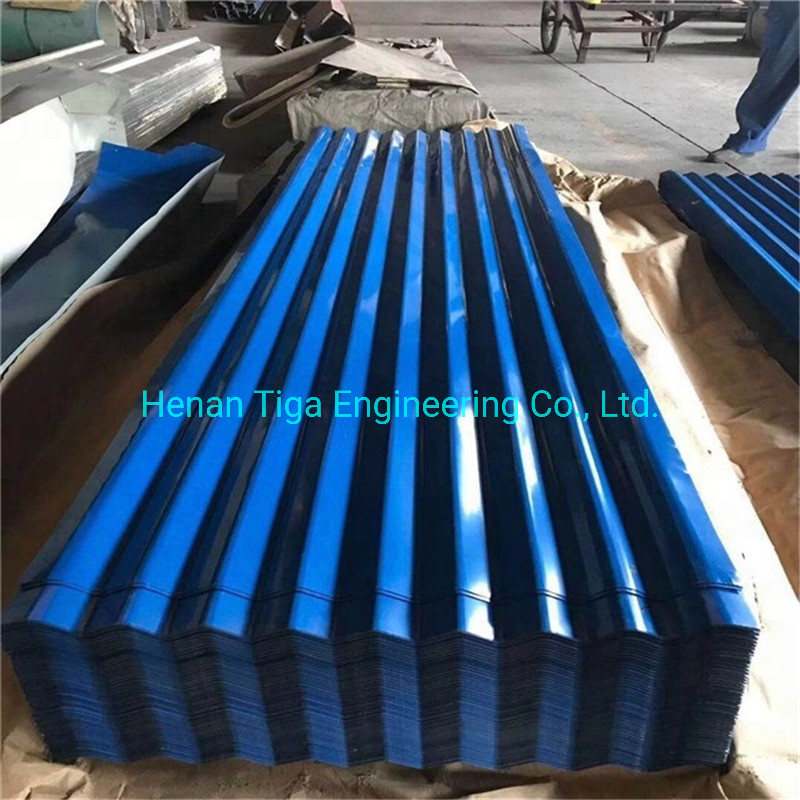 030mm 6808401050mm Prepainted Box Profiled with Felt Trapezoidal Roofing Sheets