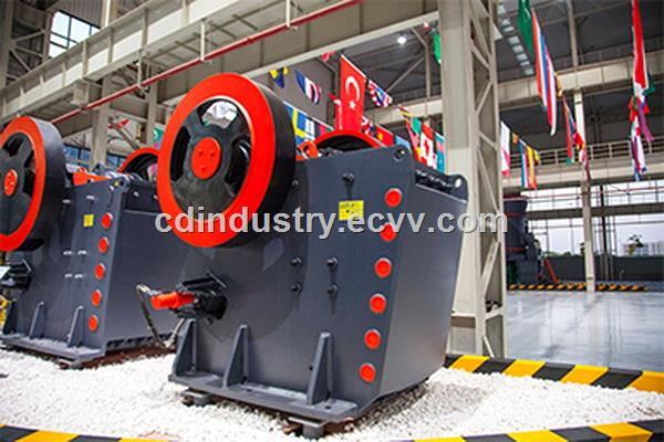 PEW Jaw Crusher Automatic hydraulic design allows easier adjustments and operations