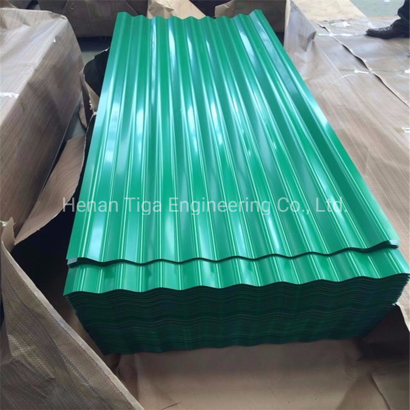 Low Price Colorful Color Coated Corrugated Galvanized Roof Steel Tiles