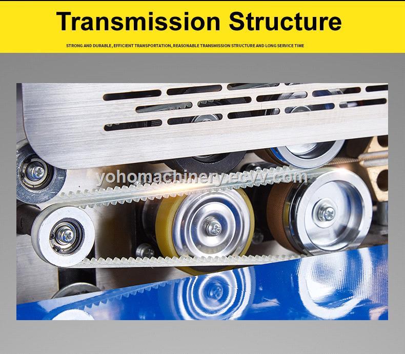 FR770A Automatic horizontal plastic film bags heat sealing machine continuous band sealer machine