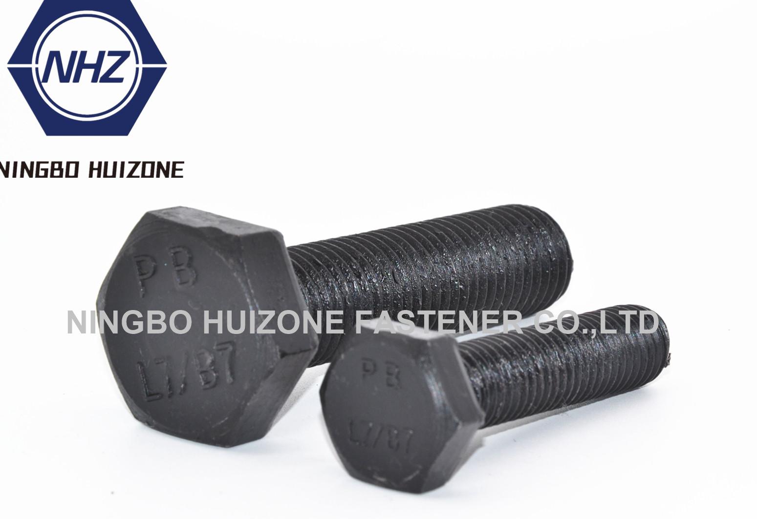 Heavy Hex Bolts ASTM A193A193M Grade B7B7MB8B8MB16ASTM A307 Grade B