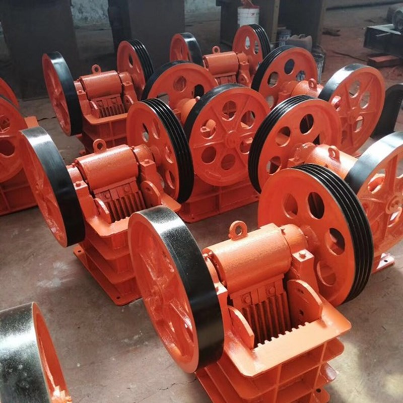 PE small stone jaw crusher mobile copper ore crushing equipment diesel power