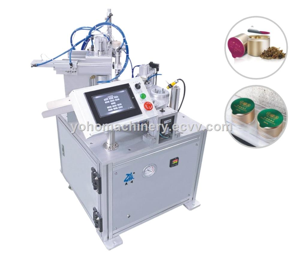 Small can tea filling and sealing machine packing machine