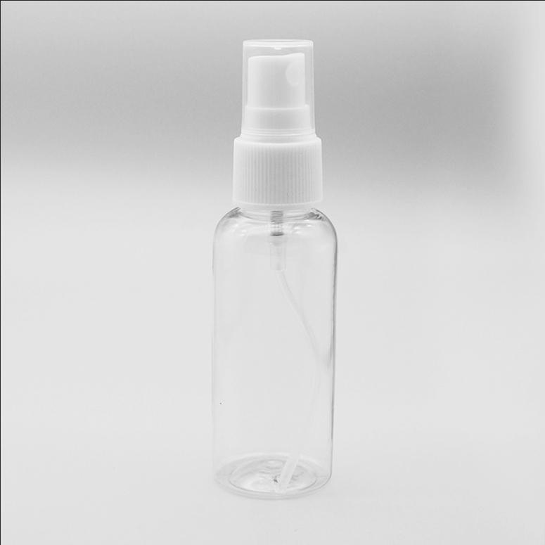 50ml PET plastic disinfectant bottles 50ml empty cosmetic spray bottle