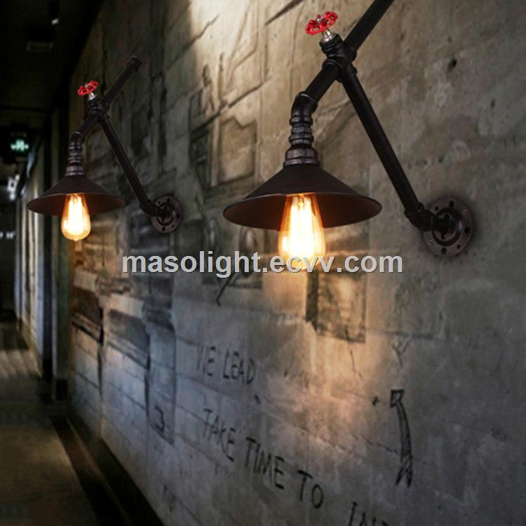 Antique iron pipe vintage wall lighting made in Zhongshan