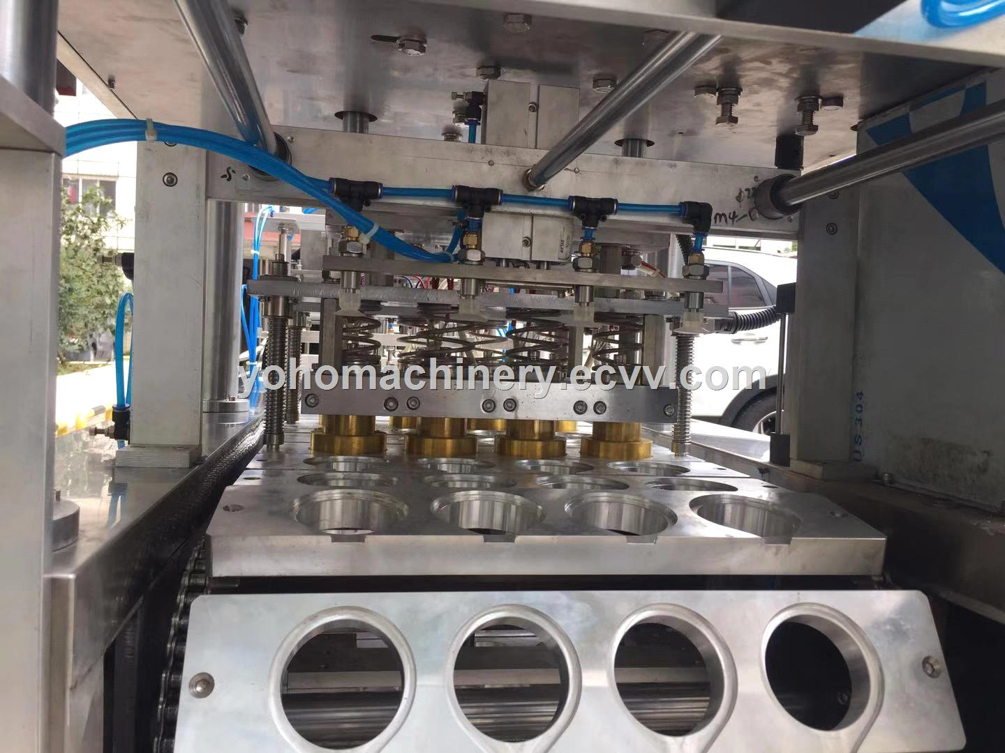 HighAccuracy Automatic Plastic Jelly Yogurt K Cup Drinking Mineral Water Cup Filling Sealing Machine
