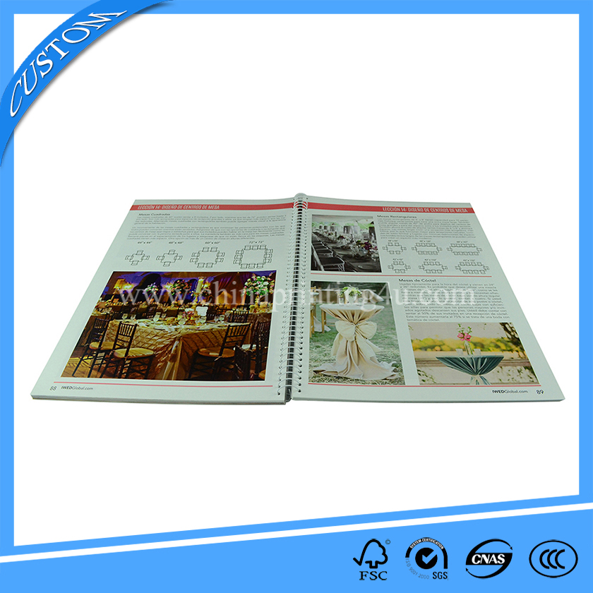 print books in china spiral bound catalogue printing china