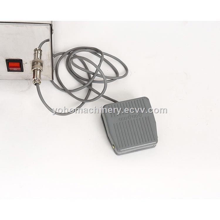 table top small digital control magnetic pump volume liquid filling machine