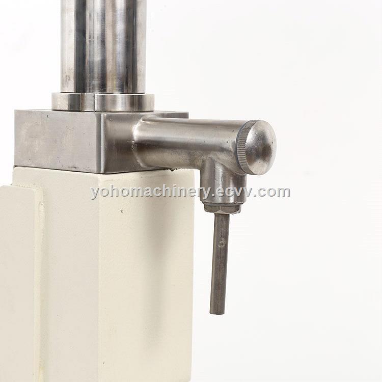 A02 Pneumatic Liquid Volumetric Filling Machine Semi automatic Liquid Filling Machine