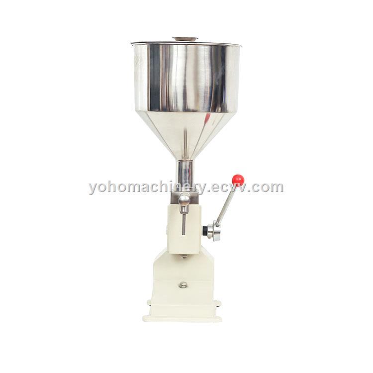 A03 Small Manual Bottle Oil Filling Machine 50ml Liquid Paste Filler
