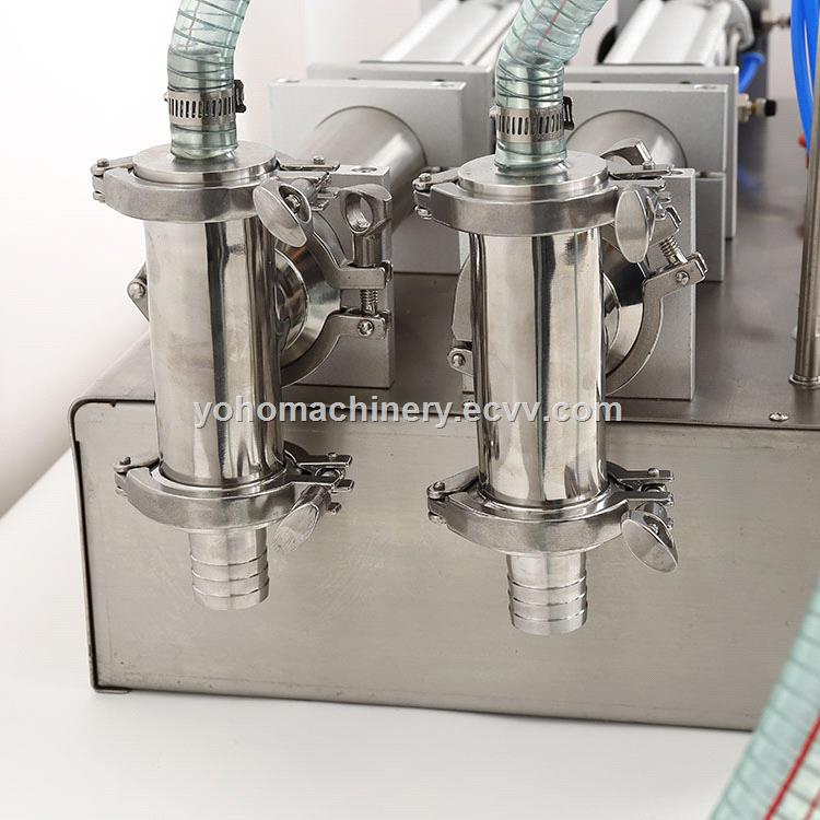 Electrical Double Head Horizontal Pouch Beverage Oil Filling Machine WaterLiquid Filling Machine