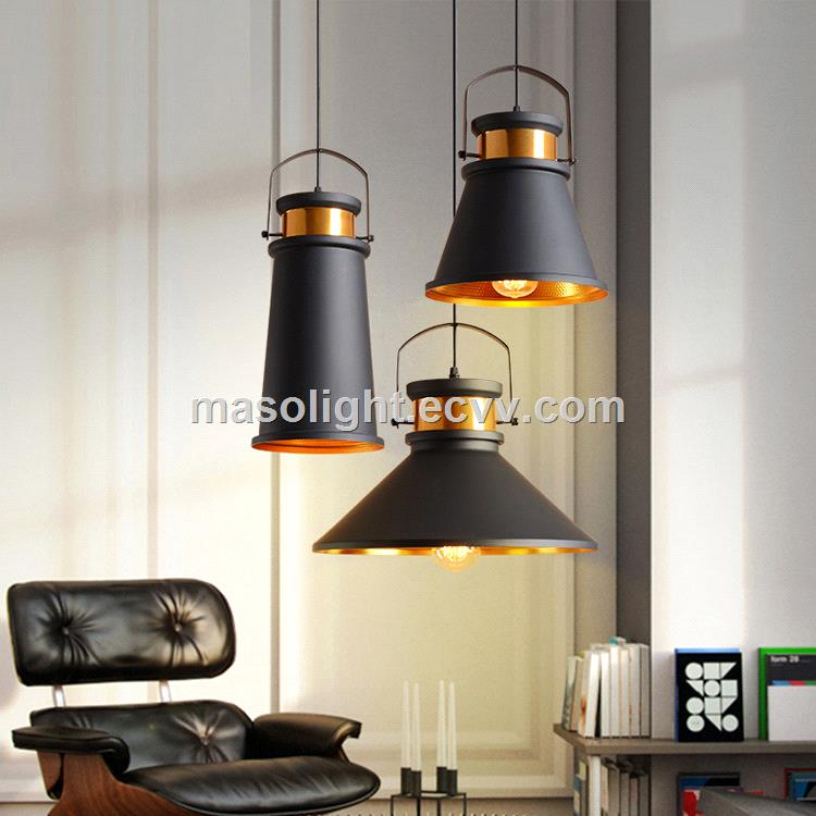 High quality ceilling lighting elegant gold modern aluminum pendant lamp