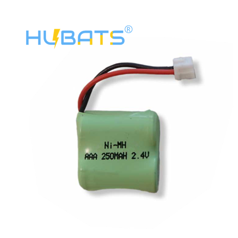 Hubats 12AAA2 NiMH 24V 250mAh AAA NiMH Batteries for Wireless Paging Systems Cordless Phone