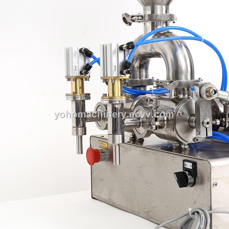 auto lotion bottle cosmetic filler water beverage honey cream piston paste liquid filling machine