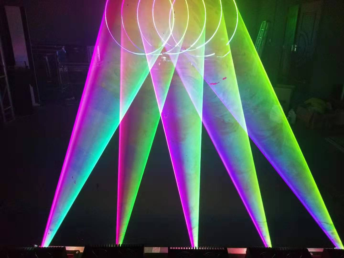 the most Economical 12w Rgb 3D Animation Projector Sky Show Party Dj Programmable Laser Disco Lights